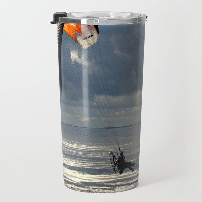 Powered Paraglider Travel Mug