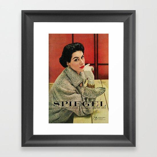 1953 Fall/Winter Catalog Framed Art Print