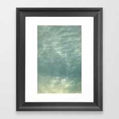 Amazing Clouds Framed Art Print