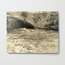 Antique Bridge Metal Print