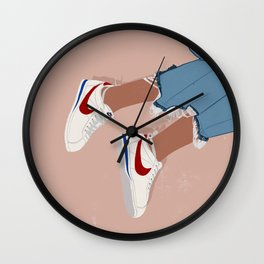 Uptown x Cortez Sneakers Wall Clock
