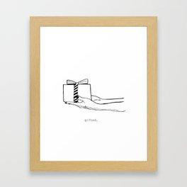 Gifted II Framed Art Print