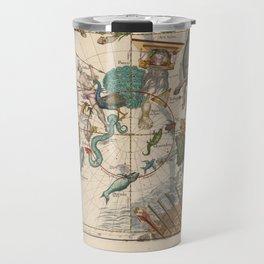 Ignace-Gaston Pardies - Globi coelestis Plate 6: Centaurus, Indus, Chamaeleon and other constellatio Travel Mug
