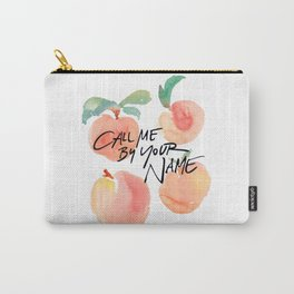 Call Me By Your Name - Peaches Carry-All Pouch