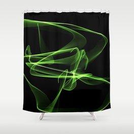 """William's """"geen"""" art Shower Curtain"""