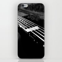 bass iPhone & iPod Skins featuring Bass  by Lia Bedell