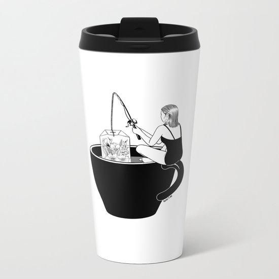 Laid-Back Time Metal Travel Mug