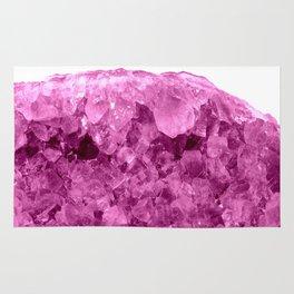 Sparkling Pink Amethyst Rug