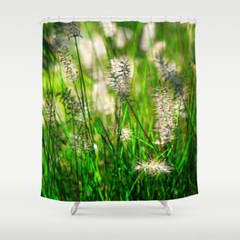 Grass (1) Shower Curtain