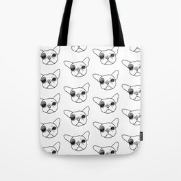 Hugo the Frenchie Tote Bag