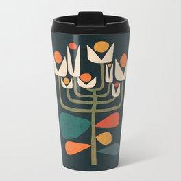 Retro botany Metal Travel Mug