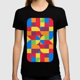 geometric bauhaus dance T-shirt