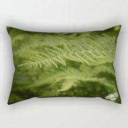 Jane's Garden - Fern Fronds Rectangular Pillow