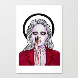 Dark Andreja Canvas Print