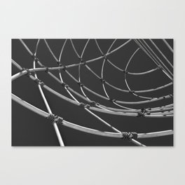 Wire Abstract Canvas Print