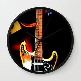 SRV - Number One - Graphic 3 Wall Clock