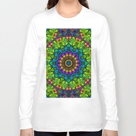 kaleidoscope Crystal Abstract G50 Long Sleeve T-shirt