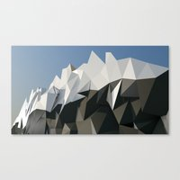 low poly Canvas Prints featuring Low Poly by Bashar Subeh Photography