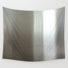 Industrial Brushed Stainless Wall Tapestry
