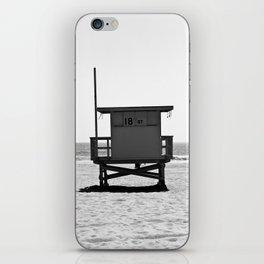 Manhattan Beach Lifeguard Tower iPhone Skin