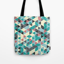 TRIANGLE GREEN Tote Bag