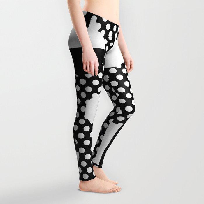 It's Black, It's White Leggings