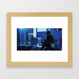 how do you know when to leave and when to stay? Framed Art Print