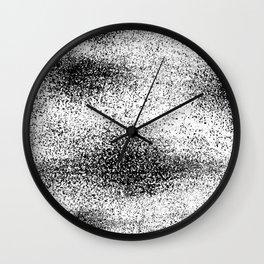 Abstract II Black Wall Clock