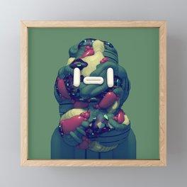 Lump Head Framed Mini Art Print