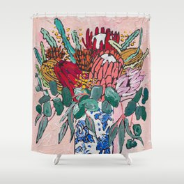 Australian Native Bouquet of Flowers after Matisse Shower Curtain
