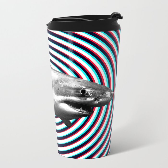 Shark Metal Travel Mug