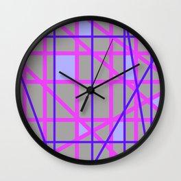 Abstract RP Wall Clock