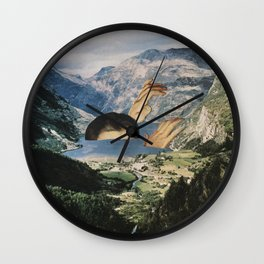 Out of Bath Wall Clock