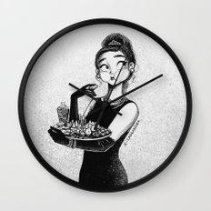 breakfast with Tiffany Wall Clock