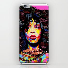 Abstract Modern African Women iPhone Skin