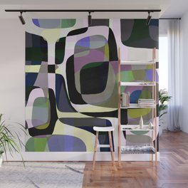 Mid Century Abstract 2 Wall Mural