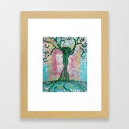 Sakura Blooms Framed Art Print