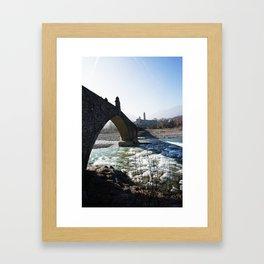 The Bridge - Italy Framed Art Print
