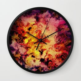 Welcomed heat Wall Clock