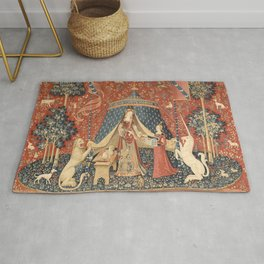 The Lady And The Unicorn Rug