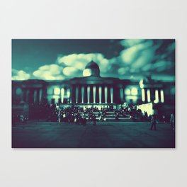 'At The Museum' by TDL Canvas Print