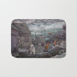 Home for the Harbor Bath Mat
