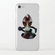 Mass Effect: Mordin Solus Clear iPhone Case