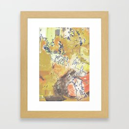 Smoke Framed Art Print