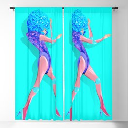 Woman Power Style1 Blackout Curtain
