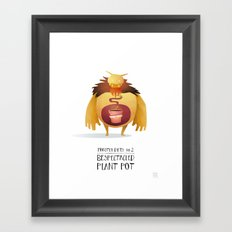 Monster Diets No.2 Framed Art Print