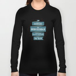 The Truth (blue) Long Sleeve T-shirt