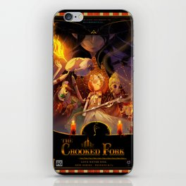 The Crooked Fork (promo poster) iPhone Skin