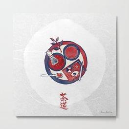 the Way of Tea / Sadou (茶道) Metal Print