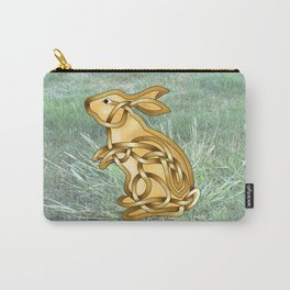 Rabbit Knot Carry-All Pouch